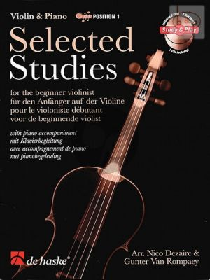 Selected Studies Vol.1 for the Beginner Violinist (Bk- 2 Cd's)