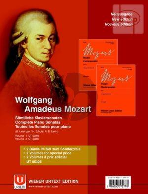 Sonaten vol.1 - 2 Klavier