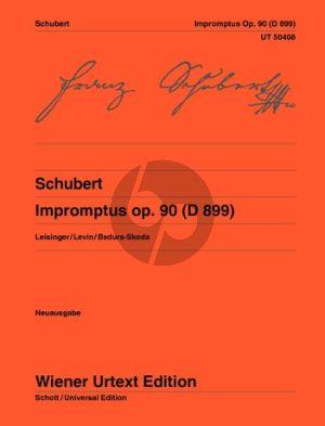 Schubert Impromptus Op.90 (D 899) Piano