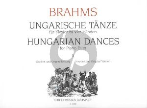 Hungarian Dances Vol.2 Piano 4 Hds
