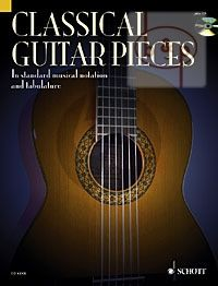 Album Classical Guitar Pieces (50 Easy-To-Play Pieces in Standard Music Notation and Tablature)