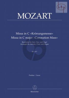 Missa KV 317 C-dur (Kronungs-Messe) (arr.for Soli-SATB-Organ)