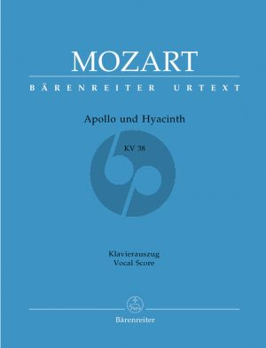 Mozart Apollo und Hyacinth KV 38 (KA) (lat./dt.) (ed. Alfred Orel) (Barenreiter-Urtext)