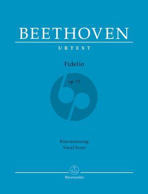 Beethoven Fidelio Op.72 Vocal Score
