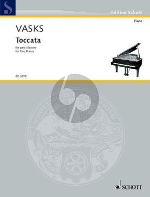 Vasks Toccata 2 Piano's