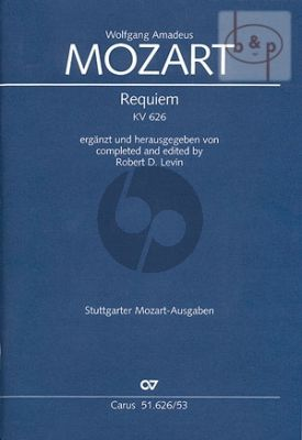 Requiem d-minor KV 626 Soli-Choir-Orch.