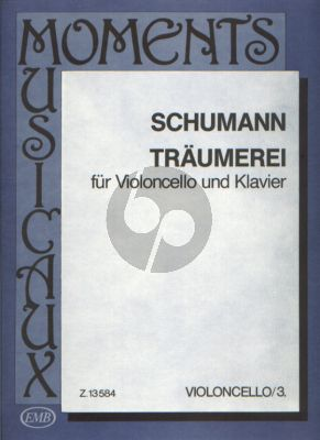 Schumann Traumerei Opus 15 No. 7 Violoncello and Piano (transcr. by Carl Davidov) (edited by Árpád Pejtsik)