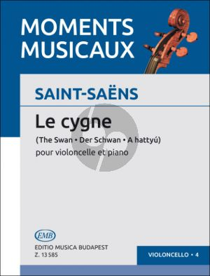 Saint-Saens Le Cygne Violoncello-Piano (Árpád Pejtsik)