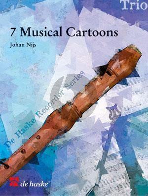 Nijs 7 Musical Cartoons 3 Descant Recorders (transcr. Paul van der Voort)