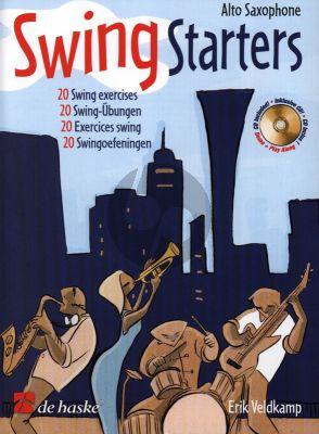 Veldkamp Swing Starters for Alto Saxophone (Bk-Cd) (20 Swing Exercises)