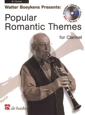 Popular Romantic Themes Klarinet (Bk-CD) (arr. Walter Boeykens)