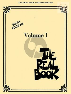 The Real Book Vol.1 for C instruments (6th Edition)
