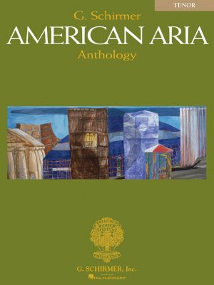 Album American Aria Anthology for Tenor Book with Cd (Edited by Richard Waters)