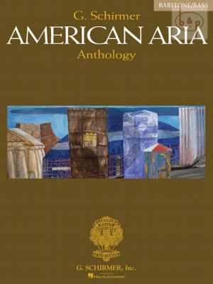 American Aria Anthology for Baritone and Bass (edited by Richard Walters)