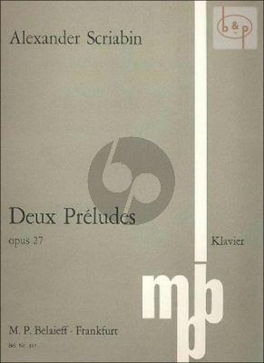 2 Preludes Op.27