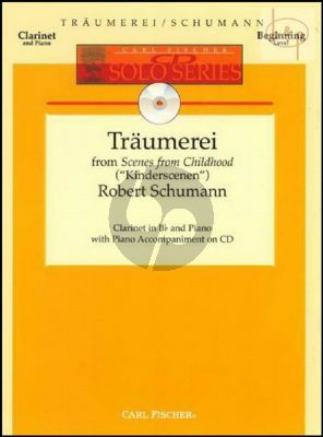 Traumerei Op.15 No.7 (from Scenes of Childhood) (Clarinet-Piano)