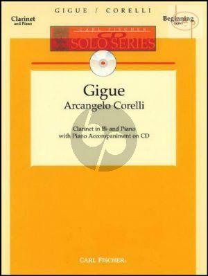 Gigue (Clarinet-Piano) (Bk-Cd)