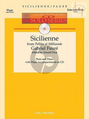 Sicilienne (from Pelleas et Melisande) (Flute-Piano) (Bk-Cd)