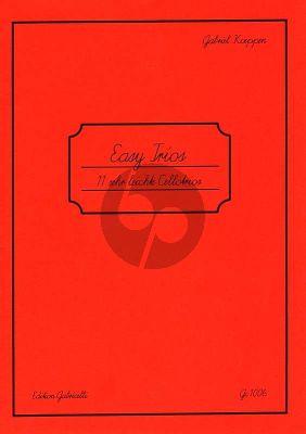 Koeppen Easy Trios 11 Sehr Leichte Trios 3 Violoncellos