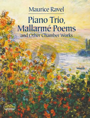 Ravel Pianotrio-Mallarme Poems & other Chamber Works Full Score