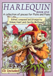 McDowall-Hunt Harlequin Vol.1 Flute-Piano (Bk-Cd) (grades 2-4)
