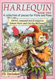 McDowall-Hunt Harlequin Vol.2 Flute-Piano (Bk-Cd)