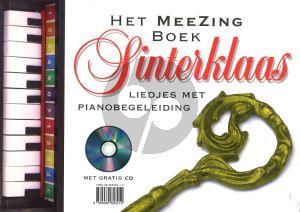 Het Meezingboek Sinterklaas & Kerst (Liedjes met Piano- of Gitaarbegeleiding) (Bk-Cd)