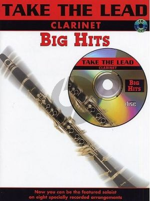 Take the Lead Big Hits Clarinet (Bk-Cd)