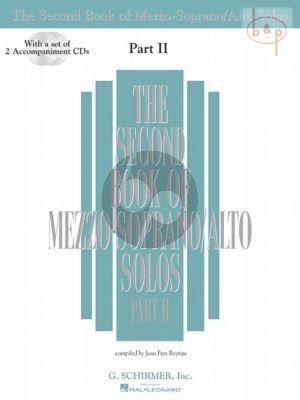 Second Book of Mezzo-Soprano/Alto Solos vol.2 Bk- 2 CD's