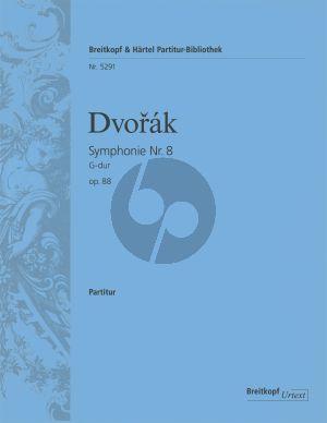 Dvorak Symphony No. 8 G-major Op.88 Full Score (edited by Klaus Doege)
