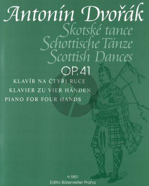 Dvorak Schottische Tanze Op.41 Klavier 4 handen