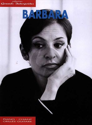 Barbara Grands Interpretes (35 Chansons) (Piano-Vocal-Guitar)