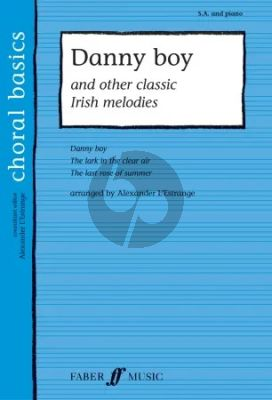 Album Danny Boy and other Irish Melodies Upper Voices and Piano (arr. by Alexander L'Estrange)