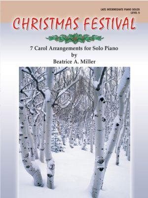 Miller Christmas Festival Level 5 piano (6 Carol Arrangements)