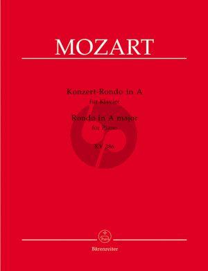 Mozart Konzert-Rondo A-dur KV 386