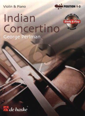 Perlman Indian Concertino for Violin (Bk-Cd) (1st Position) (An Indian Story) (De Haske)