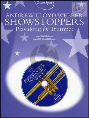 Guest Spot Showstoppers Playalong for Trumpet