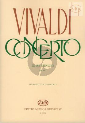 Concerto d-minor RV 481