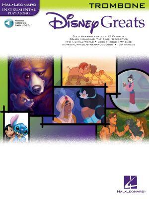 Disney Greats for Trombone (15 Songs) (Bk-Cd) (Grade 2 - 3)
