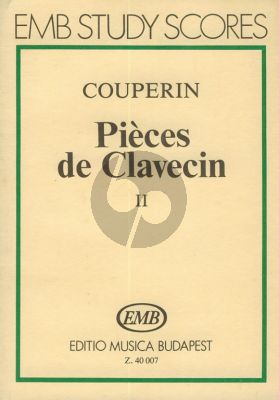 Couperin Pièces de Clavecin Vol.4 Study Score (Jozsef Gat)