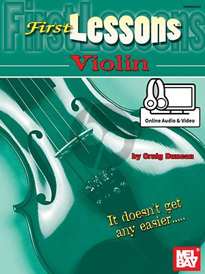 Duncan First Lessons for Violin (Book with Audio online)