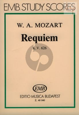 Requiem d-minor KV 626 (Soli-Choir-Orch.) (Study Score)
