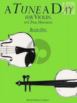 A Tune a Day for Violin Vol.1