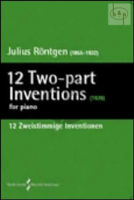 12 2 part Inventions Piano solo