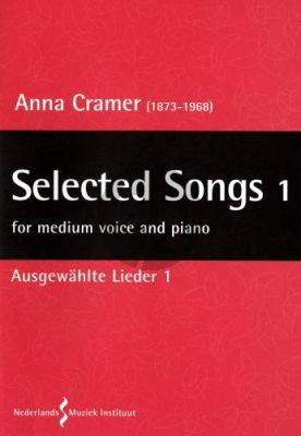 Cramer Selected Songs Vol.1 Medium Voice and Piano (german)