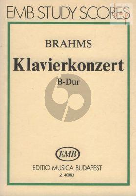 Piano Concerto B-flat major Op.83