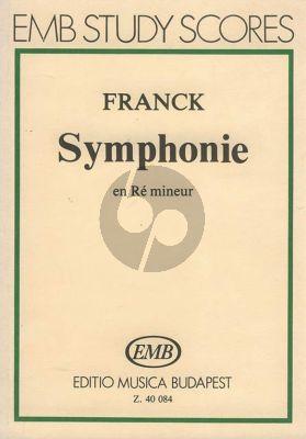 Franck Symphony D-minor Study Score
