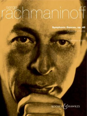 Rachmaninoff Symphonic Dances Op.45 2 Piano's (2 Playing Scores)