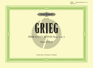 Peer Gynt Suites No.1 Op.46 and No.2 Op.55
