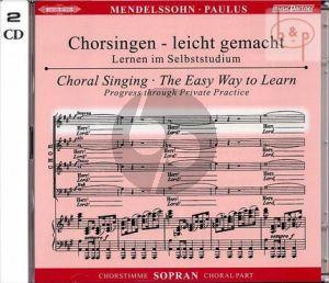 Paulus Op.36 Sopran Chorstimme 2 CD's